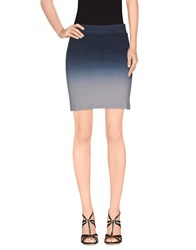 Religion Skirts Mini Skirts Women Grey