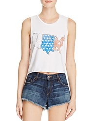 Project Social T Map Of States Tank 100 Bloomingdale's Exclusive White