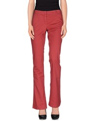 Good Mood Trousers Casual Trousers Women Brick Red