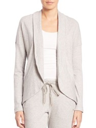 Hanro Yoga Fashion Bolero Cardigan Light Grey