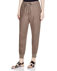 Joie Stuva Linen Jogger Pants Fatigue