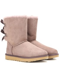Ugg Bailey Bow Ii Suede Boots Purple