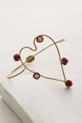Anthropologie Corazon Cuff Red