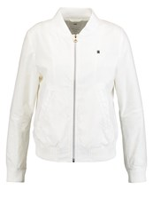 G Star Gstar Perforated Zip Overshirt L S Summer Jacket Milk Off White