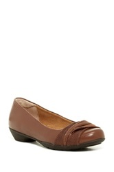 Softspots Paley Flat Wide Width Available Brown