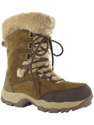 Hi Tec St Moritz 200 Ii Waterproof Winter Boots Brown