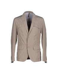 Asfalto Suits And Jackets Blazers Men Beige