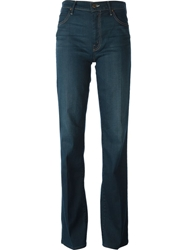 Mother 'The Socialite' Flared Jeans Blue