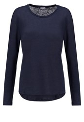 Filippa K Long Sleeved Top Grape Blue