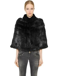 Blugirl Short Rabbit Fur Cape