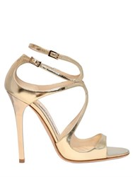 Jimmy Choo 115Mm Lance Mirror Leather Sandals