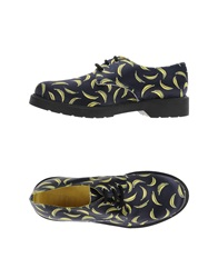Never Ever Lace Up Shoes Dark Blue