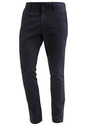 Banana Republic Fulton Chinos Preppy Navy Dark Blue