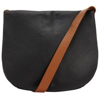 John Lewis Collection Weekend By Abigail Leather Across Body Bag Black