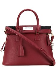 Maison Martin Margiela '5Ac' Shoulder Bag Red
