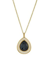 Ippolita 18K Ondine Hematite And Mother Of Pearl Pendant Necklace Black