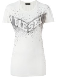 Diesel 'T Smile W' T Shirt White