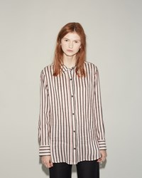 Isabel Marant Manray Shirt Black Red