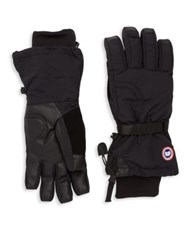 Canada Goose Waterproof Down Insulated Gloves Black