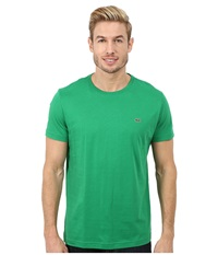 Lacoste Short Sleeve Pima Jersey Crewneck T Shirt Chlorophyll Green Men's T Shirt