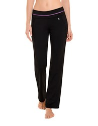 Danskin Horizon Bootleg Lounge Pants Black