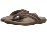 Dockers Seacliff Red Brown Olive Distressed Canvas Women's Sandals