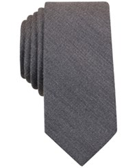 Bar Iii Solid Tie Only At Macy's Grey