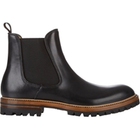 Elia Maurizi Leather Chelsea Boots Sale Up To 70 Off At Barneyswarehouse.Com