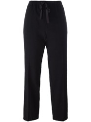 Forte Forte 'My Pants' Drawstring Trousers Black