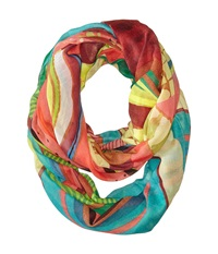 Desigual Loop Africano Green Scarves
