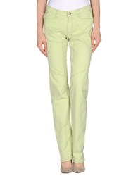 9.2 By Carlo Chionna Trousers Casual Trousers Women Light Green