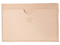 Obey Newbury Card Case Blush Credit Card Wallet Pink