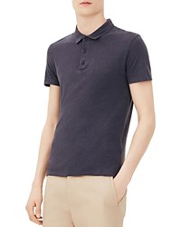 Sandro Beach Classic Fit Polo Shirt Ardoise