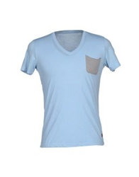 Red Soul T Shirts Sky Blue