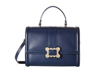 Vivienne Westwood Glasgow Bag Blue Satchel Handbags