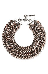 Lafayette 148 New York Women's Reversible Double Chain Necklace