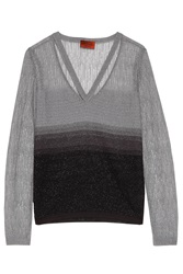 Missoni Lurex Sweater With Neck Strap