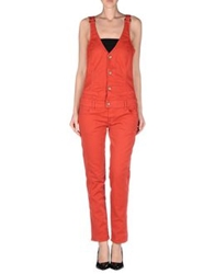Met Pant Overalls Red