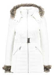 Morgan Gaime Faux Leather Jacket Off White Off White