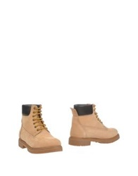 Serafini Ankle Boots Sand