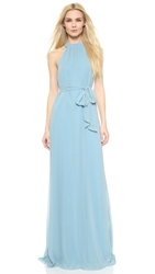 Joanna August Elena Collar Column Dress Ice Ice Baby