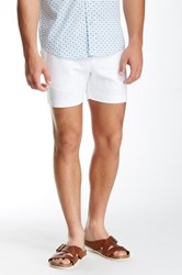 Parke And Ronen Solid Holler Short White