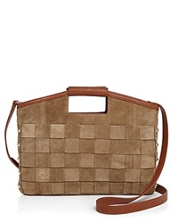 Etienne Aigner Jerry Woven Convertible Crossbody Sand