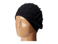 Echo Msoft Pointelle Beret Black Berets