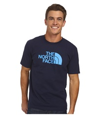 The North Face S S Half Dome Tee Cosmic Blue Quill Blue Men's T Shirt Navy