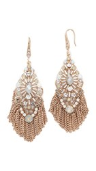 Theia Jewelry Dara Chandelier Earrings Gold Clear