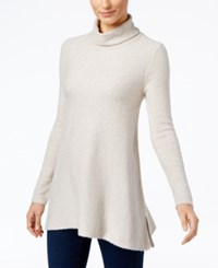 Styleandco. Style Co. Turtleneck Tunic Sweater Only At Macy's Hammock Heather