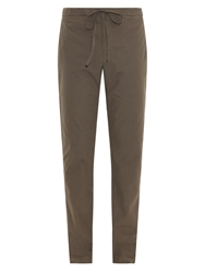 Tomas Maier Relaxed Fit Cotton Trousers