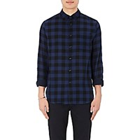 Rag And Bone Men's Beach Checked Shirt Black