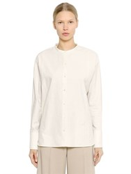 Christophe Lemaire Cotton Oxford Shirt